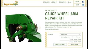 RK Gauge Wheel Arm Repair Kit Installation for JD 1700 Series